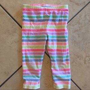 🌈 Girls 3t striped leggings